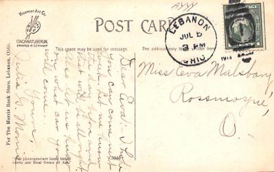 sha700545 - Shaker Postcards Old Vintage Antique Post Cards  back