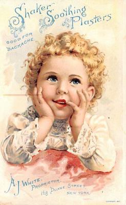 sha700557 - Shaker Old Vintage Antique Trade Card