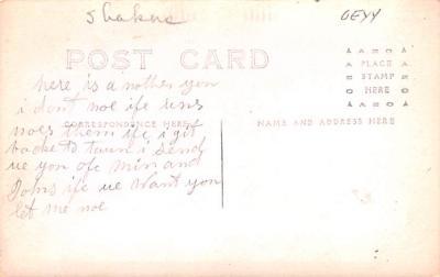 sha700573 - Shaker Postcards Old Vintage Antique Post Cards  back