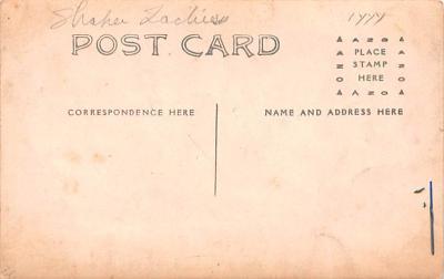 sha700605 - Shaker Postcards Old Vintage Antique Post Cards  back