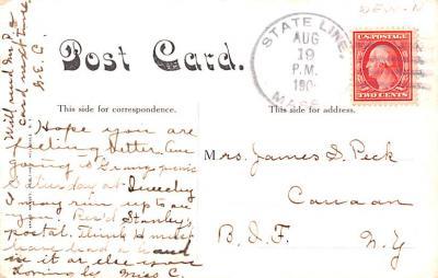 sha700613 - Shaker Postcards Old Vintage Antique Post Cards  back