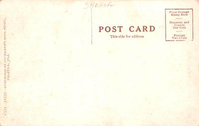 sha800003 - Shaker Postcards Old Vintage Antique Post Cards  back