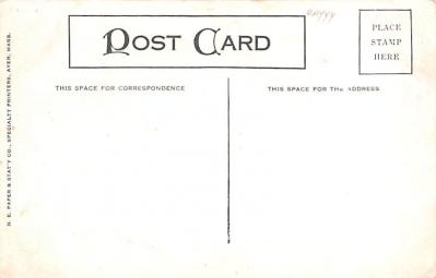 sha800005 - Shaker Postcards Old Vintage Antique Post Cards  back