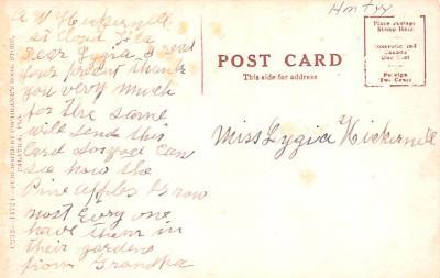 sha800009 - Shaker Postcards Old Vintage Antique Post Cards  back