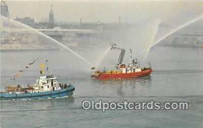 Toronto Harbour Fire Boat