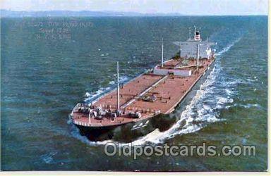 shi001008 - Tashima Maru NYK Shipping Ship Postcard Postcards