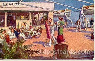 shi001034 - NYK Shipping Ship Postcard Postcards
