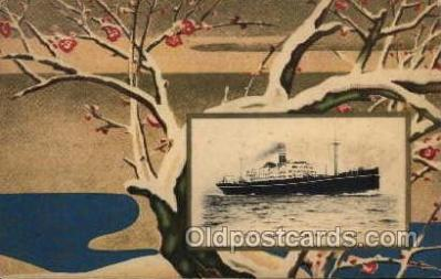 shi001093 - Ship Postcards