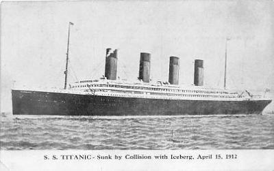 shi002089 - Titanic Ship Postcard Postcards