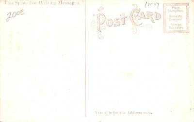 shi002186 - Titanic Ship Post Card Old Vintage Antique  back