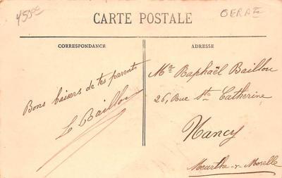 shi002192 - Titanic Ship Post Card Old Vintage Antique  back