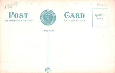 shi002216 - Titanic Ship Post Card Old Vintage Antique  back