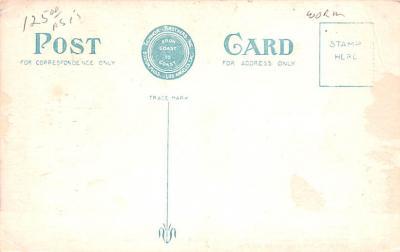 shi002218 - Titanic Ship Post Card Old Vintage Antique  back