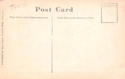 shi002228 - Titanic Ship Post Card Old Vintage Antique  back