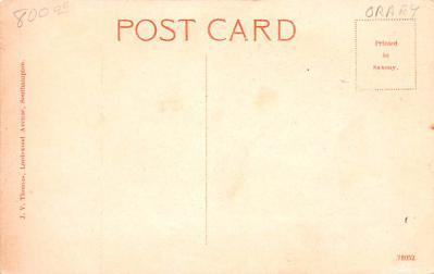 shi002240 - Titanic Ship Post Card Old Vintage Antique  back