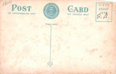 shi002246 - Titanic Ship Post Card Old Vintage Antique  back