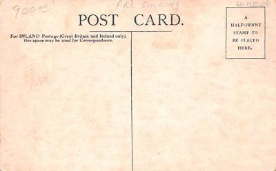 shi002248 - Titanic Ship Post Card Old Vintage Antique  back