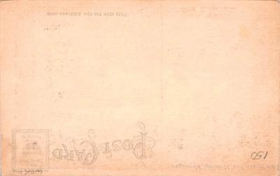 shi002258 - Titanic Ship Post Card Old Vintage Antique  back