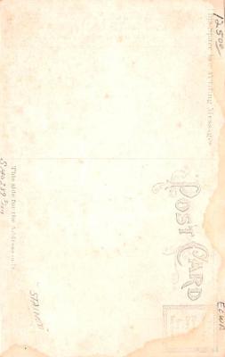 shi002260 - Titanic Ship Post Card Old Vintage Antique  back
