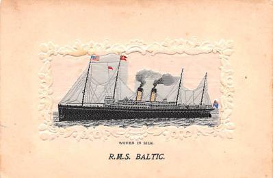 shi002272 - Titanic Ship Post Card Old Vintage Antique