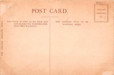 shi002272 - Titanic Ship Post Card Old Vintage Antique  back