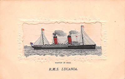 shi002274 - Titanic Ship Post Card Old Vintage Antique