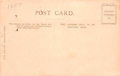 shi002274 - Titanic Ship Post Card Old Vintage Antique  back
