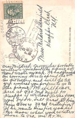 shi002276 - Titanic Ship Post Card Old Vintage Antique  back