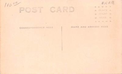 shi002286 - Titanic Ship Post Card Old Vintage Antique  back