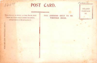 shi002290 - Titanic Ship Post Card Old Vintage Antique  back