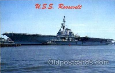 shi003020 - USS Roosevelt postcard postcards