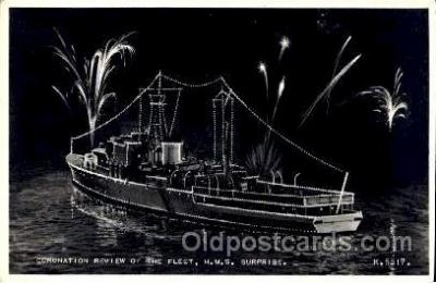 shi003031 - HMS Surprise postcard postcards