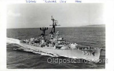 shi003114 - DD 951 Turner Joy 1960, Military Ship Ships Poscard Postcards