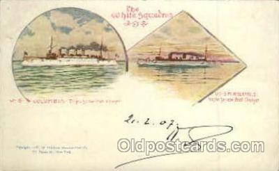 shi003122 - Military Ship Ships Poscard Postcards