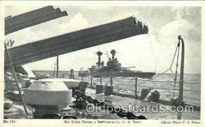 shi003235 - Battlewagon, US Navy Military Ship, Ships, Postcard Postcards