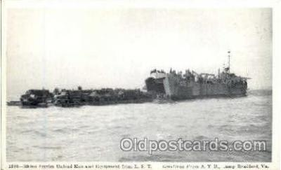 shi003265 - Rhino Ferries Military Ship, Ships, Postcard Postcards