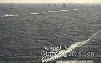 shi003278 - Fleet Review Military Ship, Ships, Postcard Postcards