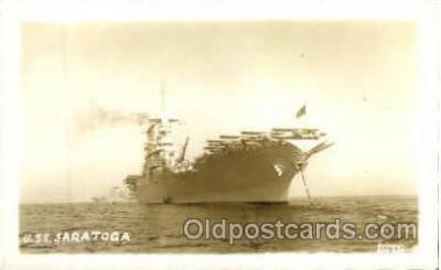 shi003279 - USS Saratoga Military Ship, Ships, Postcard Postcards