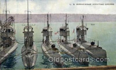 shi003299 - US Submarines Military Ship, Ships, Postcard Postcards