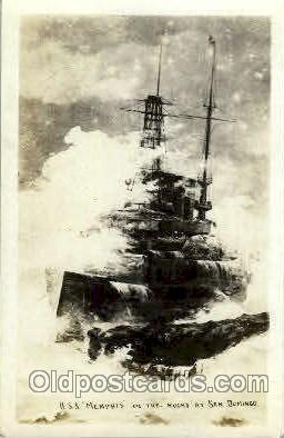 shi003315 - USS Memphis Military Ship, Ships, Postcard Postcards