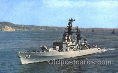 shi003334 - USS Halsey Military Ship, Ships, Postcard Postcards