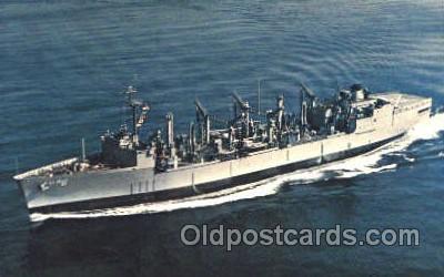 shi003338 - USS Kalamazoo Military Ship, Ships, Postcard Postcards