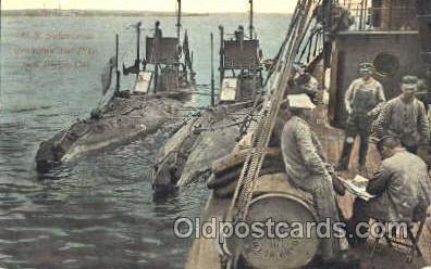 shi003340 - US Submarines Military Ship, Ships, Postcard Postcards