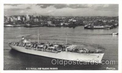 shi003345 - U.S. Naval Ship Military Ship, Ships, Postcard Postcards