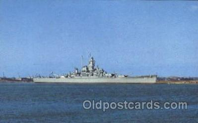 shi003347 - U.S.S. Alabama Military Ship, Ships, Postcard Postcards