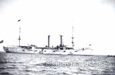 shi003349 - U.S.S Chicago Military Ship, Ships, Postcard Postcards
