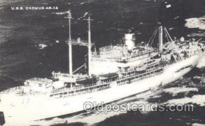 shi003351 - U.S.S. Cadmus Military Ship, Ships, Postcard Postcards