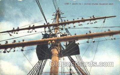 shi003361 - United States Trainign Ship Military Ship, Ships, Postcard Postcards