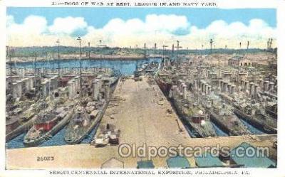 shi003365 - Dogs of War Military Ship, Ships, Postcard Postcards