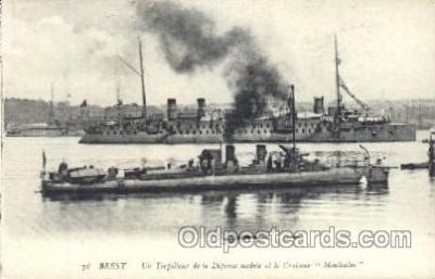 shi003373 - Montcalm Military Ship Ships Postcard Postcards